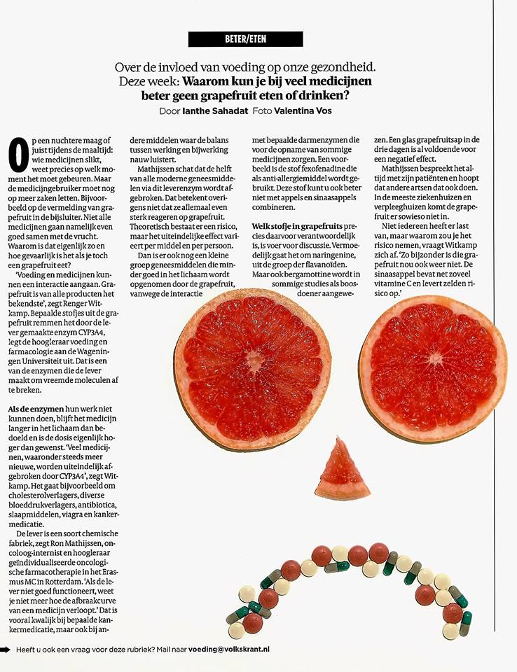grapefruit en medicatie